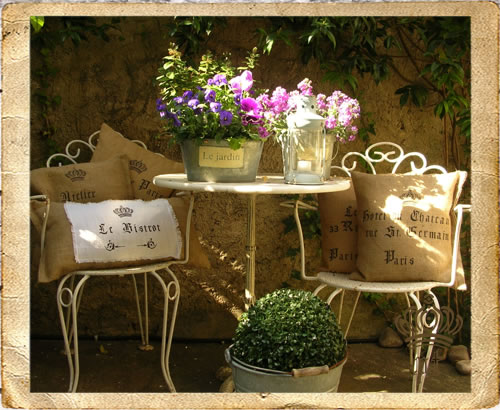 Qualcosa di me atelier shabby chic di paola tedeschi for Cuscini country chic